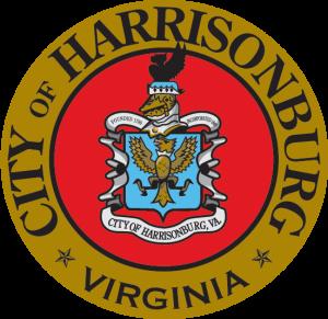 Harrisonburg Virginia aerial view