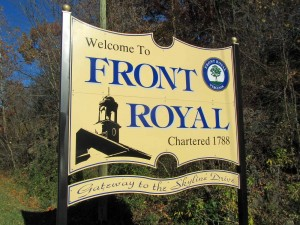 The Town of Front Royal Virginia