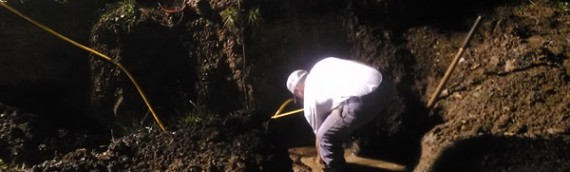 Stephens City Excavating Waterline Upgrade
