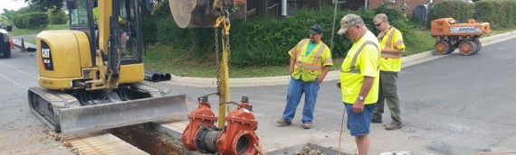 Kerfoot Ave Waterline Installation, Front Royal VA
